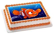 NEMO 2 Edible Birthday Cake Topper OR Cupcake Topper, Decor