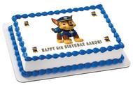Paw Patrol 1 Edible Birthday Cake Topper OR Cupcake Topper, Decor