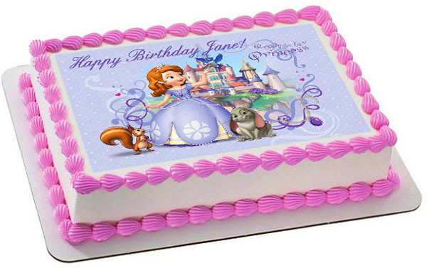Sofia The First Castle Cake Topper