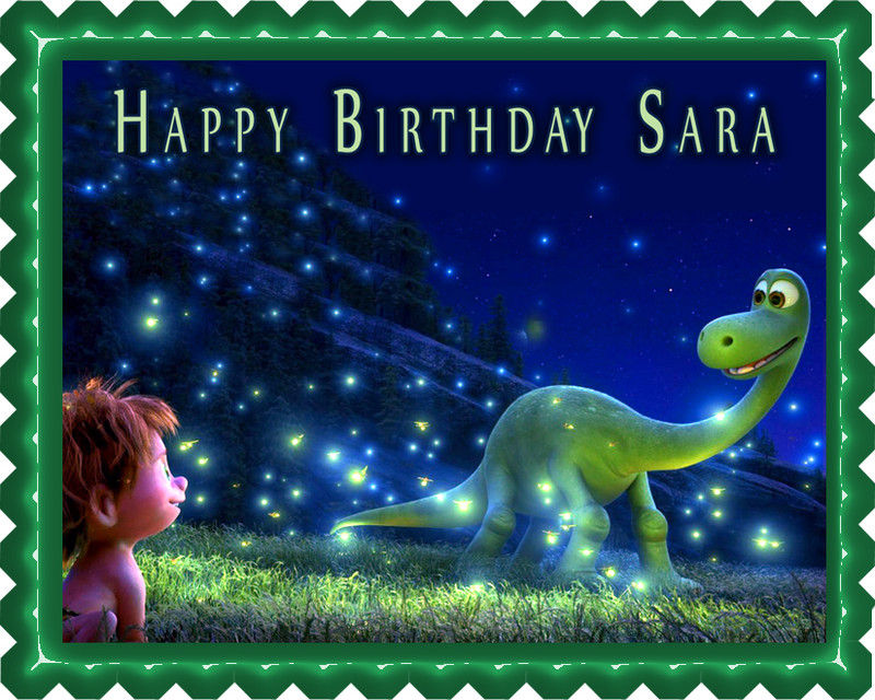 The good dinosaur Edible Birthday Cake Topper