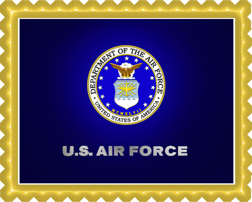 Us air force edible birthday cake topper for Decor 6 form air force