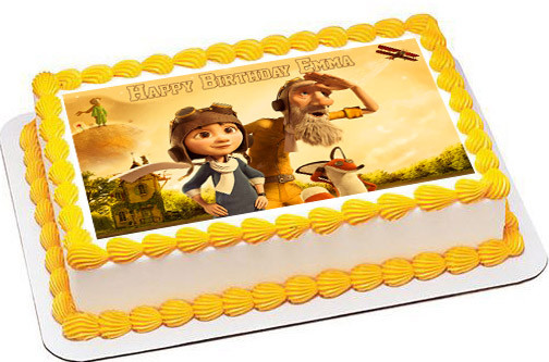 The Little Prince 2 Edible Birthday Cake Topper