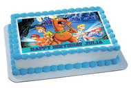 Scooby-Doo 2 Edible Birthday Cake Topper OR Cupcake Topper, Decor