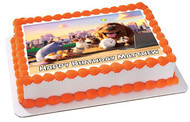 The Secret Life of Pets 2 Edible Birthday Cake Topper OR Cupcake Topper, Decor