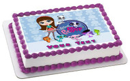 Littlest Pet Shop Edible Birthday Cake Topper OR Cupcake Topper, Decor