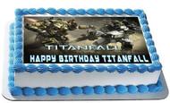 Titanfall 2 Edible Birthday Cake Topper OR Cupcake Topper, Decor