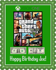 Grand Theft Auto 2 Edible Birthday Cake Topper OR Cupcake Topper, Decor