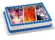 POKEMON 3 Edible Birthday Cake Topper OR Cupcake Topper, Decor