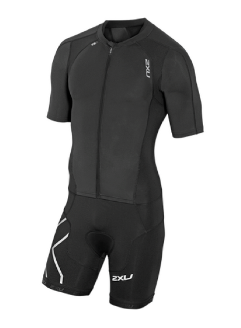 2XU Compression Sleeved Full Zip Tri Suit Men