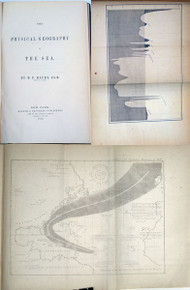 Rare book on Oceanography: Maury, M. F.; The Physical Geography of the Sea. 1st ed. 1855