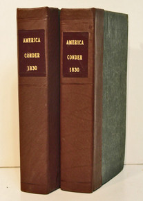 Conder, Josiah; The Modern Traveler. A Description, Geographical, Historical, and Topographical, of the Various Countries of the Globe. Volumes 23 and 24, North America. 1830