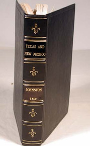 Book by Johnston, Brevet Lt. Col. Joseph E., et.al.; Reports of the Secretary of War, with Reconnaissances of Routes from San Antonio to El Paso