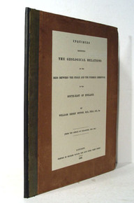 Book by William Henry Fitton; Inquiries Respecting the Geological Relations of the Beds Between the Chalk and the Purbeck Limestone in the South-East of England. 1824