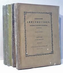 Rare Science Book by Wilhelm Karl von Haidinger; (editor) Naturwissenschaftliche Abhandlungen, Gesammelt und Durch Subcription Herausgegeben Haidinger. Erster-Vierter Band, (all published) Wien, 1847-1851.