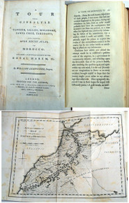 Book by Lempriere, William; A Tour from Gibraltor to Tangier, Sallee, Mogodore, Santa Cruz, Tarudant and thence over Mount Atlas to Morocco . . . London, 1791.