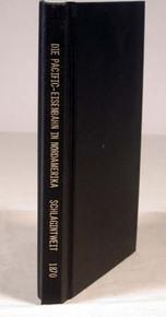 Rare railroad book by Schlagintweit, Robert von; Die Pacific - Eisenbahn in Nordamerika. Leipzig & New York, 1870.