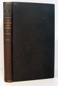 Geology Book:  Owen, David Dale; A Report of a Geological Reconnaissance of the Chippewa Land District of Wisconsin, and, Incidentally of a Portion of the Kickapoo Country, and of a Part of Iowa and of the Minnesota Territory