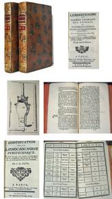 Rare Mineralogy book by Pott, Johann Heinrich; Lithogéognosie  Ou  Examen Chymique