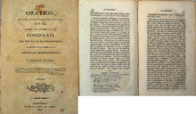 Rare Americana Pamphlet: Benjamin Silliman, An Oration, Delivered at Hartford on the 6th of July,  A. D. 1802.
