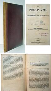 Rare Science Book, Max Schultze; Das protoplasma der Rhizopoden