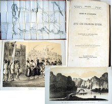 Rare western Americana book, Sitgreaves, Lorenzo; Report of an Expedition down the Zuni and Colorado Rivers. 1853.