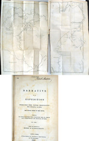 Rare Exploration Book by Schoolcraft, Henry R.; Narrative of an Expedition through the Upper Mississippi to Itasca Lake..1834