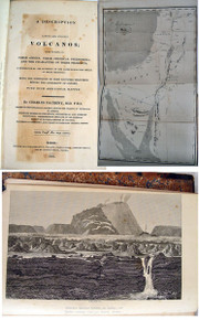 Rare geology book: Daubeny, Charles G. B.; A Description of Active and Extinct Volcanos. 1826
