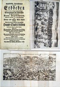Rare Book Lisbon Earthquake: Haller, Freiherr Albrecht von; Physikalische Betrachtungen von den Erdbeben und den Bewegungen der Daraus erfolgten auserordentlichen Gewässer wie auch von den anderen Natur-Begebenheiten, welche am 1ten Nov. 1755.