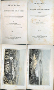 Rare California book:Taylor, Bayard. Eldorado, or, Adventures in the Path of Empire. 1st edition, 1850.