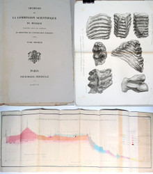 Rare Geology Book: French Commission Scientifique Du Mexique. 1864-1869.