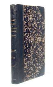 Rare Early Americana Book: Baldwin, James Fowle & Hayward, James & Willard, Solomon; Report of the Board of Directors of Internal Improvements of the State of Massachusetts on the Practicability and E