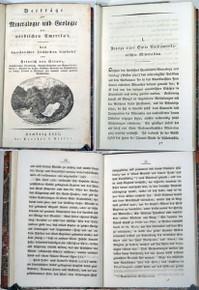 Rare Mineralogy Book: Struve, Heinrich Christoph Gottfried von, Beiträge zur Mineralogie und Geologie des Nördlichen Amerika's. Nach amerikanischen Zeitschriften bearbeitet von Heinrich von Struve. 1822