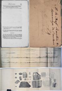 Rare Geoscience Book: Barrande, Joachim; Documents Anciens et Nouveaux sur la faune primordiale et le Système Taconique en Amérique. 1861.