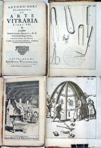 Rare Science Book: Neri, Antonio; Antonio Neri Florentini, de Arte Vitraria Libri VII. 1686