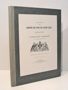 """Rare Paleontology Book: Gloeckelsthurn, Leopold Tausch von; Zur Kenntniss der Fauna der """"Grauen Kalke"""" der Sud-Alpen. 1890"""