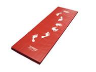 """Red Cartwheel Mat (Vinyl) 2'x6'x1-1/8"""""""