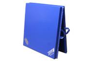 "Blue  Elementary Single Fold Mat 6'x12'x2"""