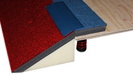 FTBCF-SFCA Carpet Tapered Foam Border System