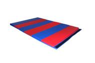 "Red/Blue T811 Folding Mat 5'x10'x1-3/8"""