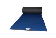 *DEMO* Blue Eco Carpet Roll 6'x42'x1-3/8""