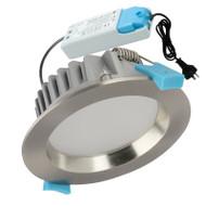 Pro-Tech 13w 3000K LED Down Light Satin Chrome
