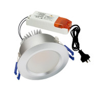 Atom AT9024 10w 3000K LED Down Light Silver