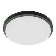 Mercator Aberdeen 20w 4000K LED Ceiling Oyster Black