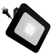 Mercator Vision 50w 4000K LED Slim Flood Light Black