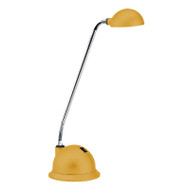 Brilliant Lolli 3w LED Desk Lamp Rubber Yellow