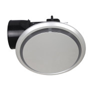 Mercator Novaline II Round/Round Silver Exhaust Fan Small