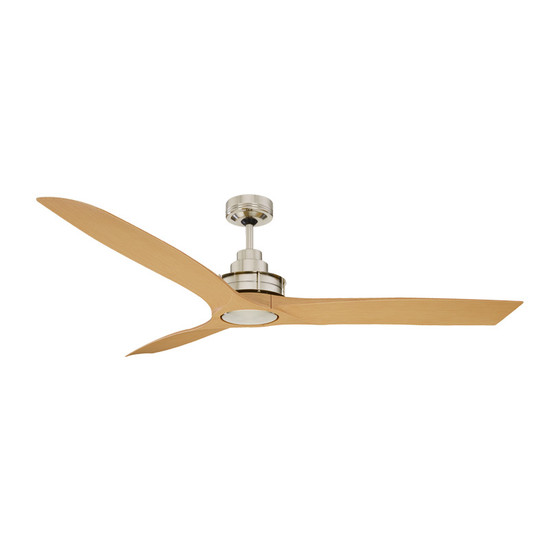 Mercator flinders 140cm brushed chrome ceiling fan galaxy lighting image 1 mozeypictures Gallery