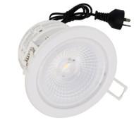 LG 9.5w 4000K 60° COB LED Down Light White