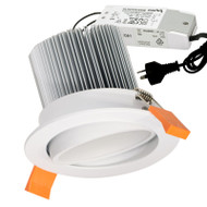Eglo Phantom 15w 3000K LED Down Light Gimble White