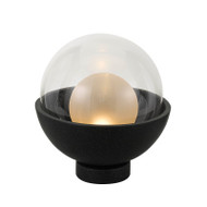Telbix Exeter Black/Clear Ball LED Table Lamp